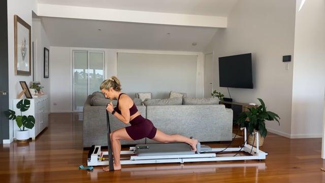 45min resistance band reformer workout