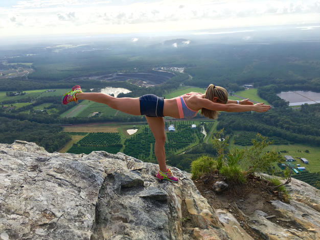 Mountain top stretch